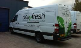 Daily Fresh Deliveries across Northern Ireland